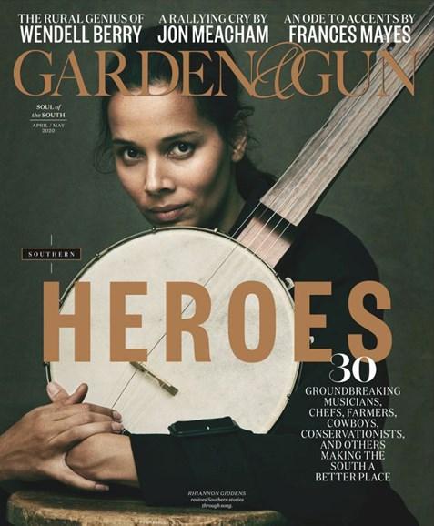 Garden & Gun Cover - 4/1/2020