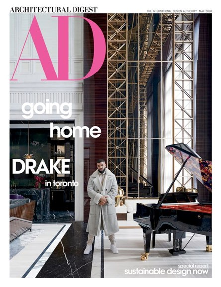 Architectural Digest Cover - 5/1/2020