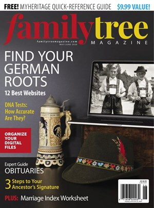 Family Tree Magazine | 5/2020 Cover