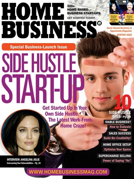Home Business Magazine Cover - 12/1/2019