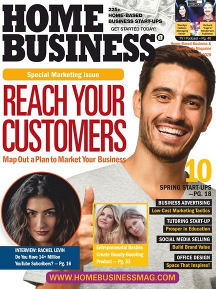 Home Business Magazine Cover - 3/1/2020
