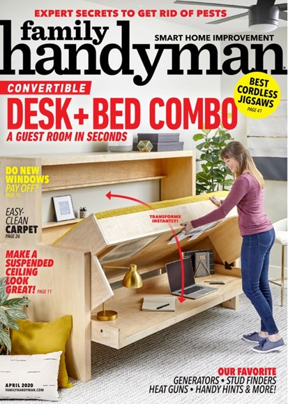 The Family Handyman Cover - 4/1/2020