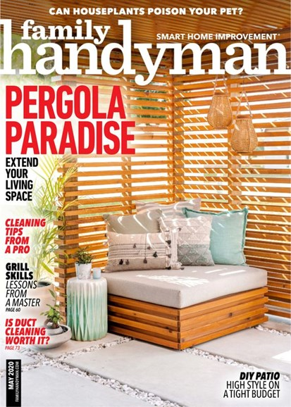 The Family Handyman Cover - 5/1/2020