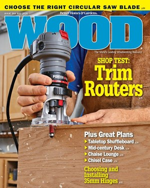 Wood Magazine | 7/1/2020 Cover
