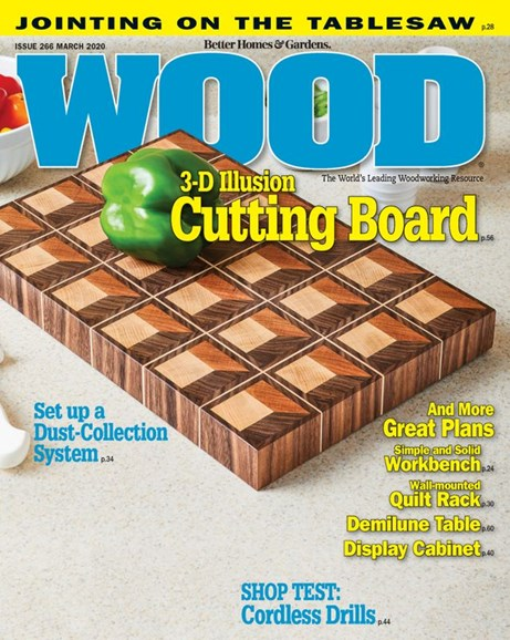 Wood Cover - 3/1/2020