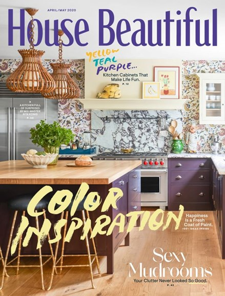 House Beautiful Cover - 4/1/2020