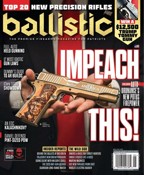 Ballistic Cover - 4/1/2020