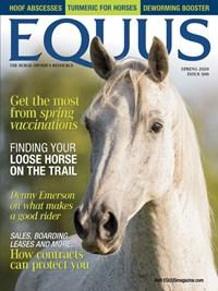 Equus Magazine   3/2020 Cover