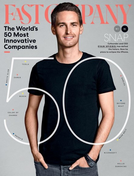 Fast Company Cover - 3/1/2020