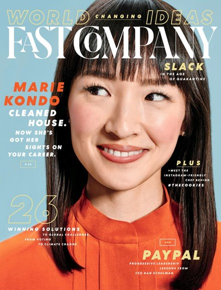 Fast Company Cover - 5/1/2020