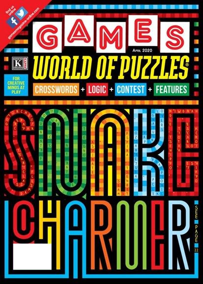 Games World of Puzzles Cover - 4/1/2020