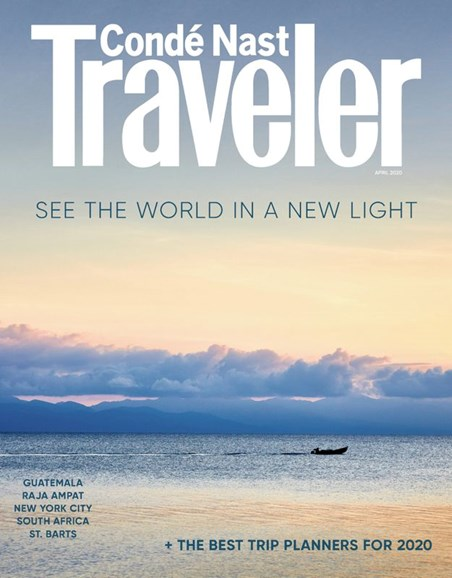 Condé Nast Traveler Cover - 4/1/2020