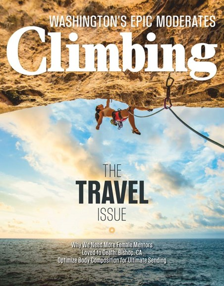 Climbing Magazine Cover - 2/1/2020