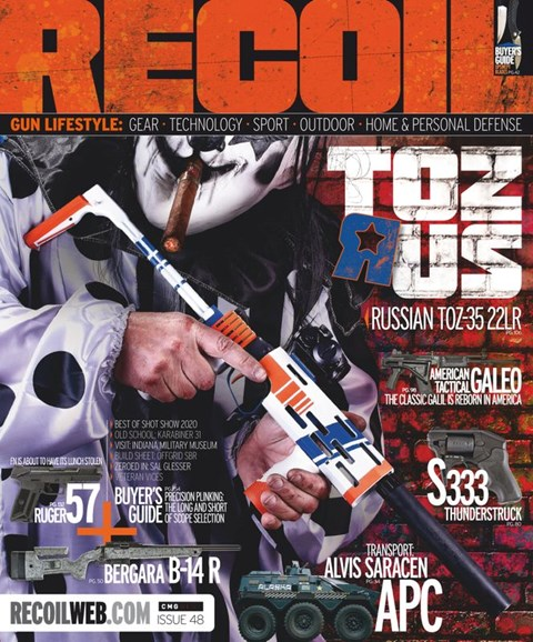 Recoil Cover - 5/1/2020