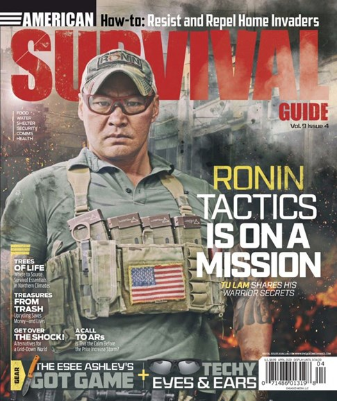 American Survival Guide Cover - 4/1/2020