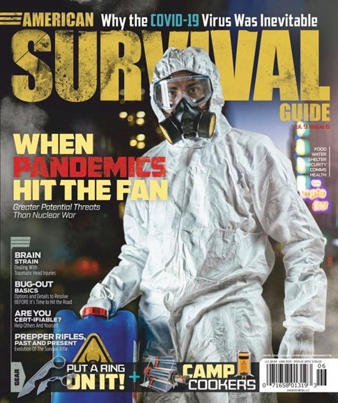 American Survival Guide Cover - 6/1/2020
