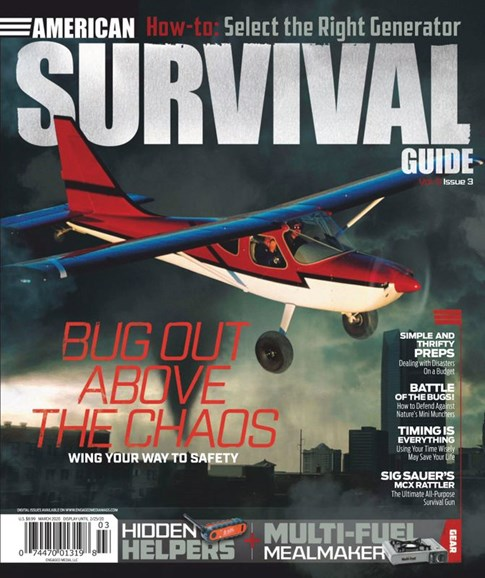 American Survival Guide Cover - 3/1/2020