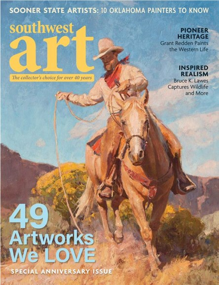Southwest Art Cover - 5/1/2020