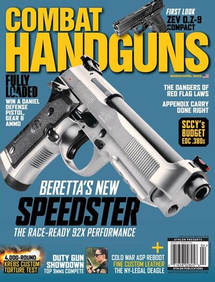 Combat Handguns Cover - 3/1/2020