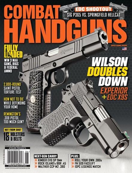 Combat Handguns Cover - 5/1/2020