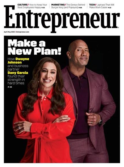 Entrepreneur Cover - 4/1/2020