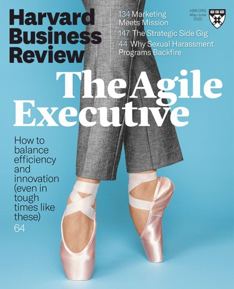 Harvard Business Review Cover - 5/1/2020