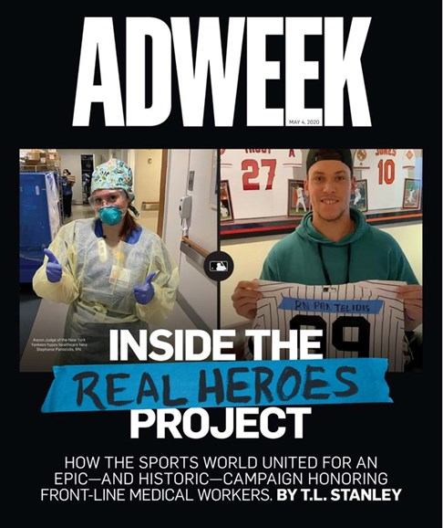 Adweek Cover - 5/4/2020