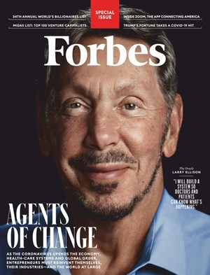 Forbes Magazine | 5/2020 Cover