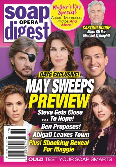 Soap Opera Digest Cover - 5/11/2020