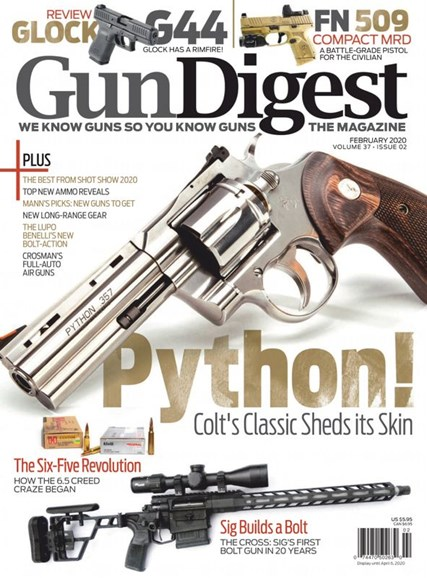 Gun Digest Cover - 2/1/2020