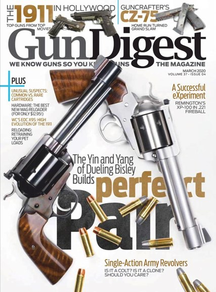 Gun Digest Cover - 3/1/2020