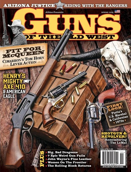 Guns Of The Old West Cover - 4/1/2020