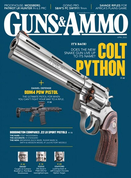 Guns & Ammo Cover - 4/1/2020