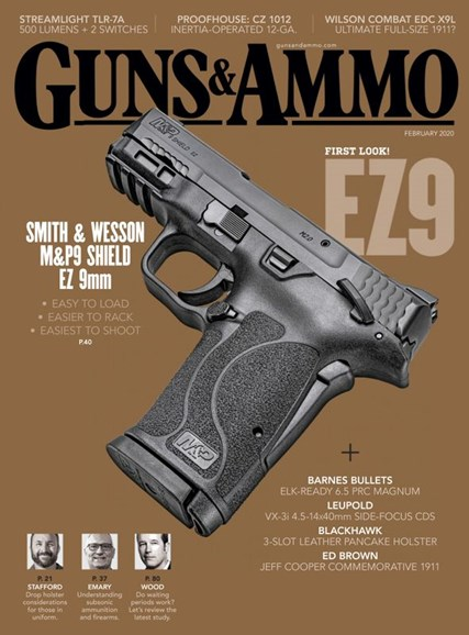 Guns & Ammo Cover - 2/1/2020