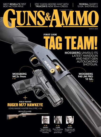 Guns & Ammo Cover - 3/1/2020