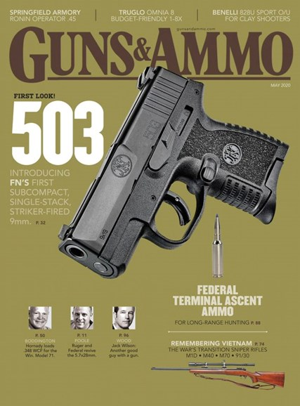 Guns & Ammo Cover - 5/1/2020