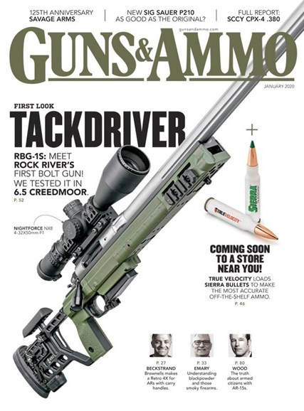 Guns & Ammo Cover - 1/1/2020