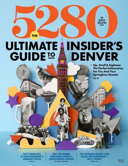 5280 Magazine Cover - 4/1/2020