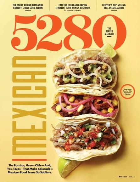 5280 Magazine Cover - 3/1/2020