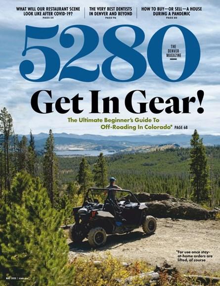 5280 Magazine Cover - 5/1/2020
