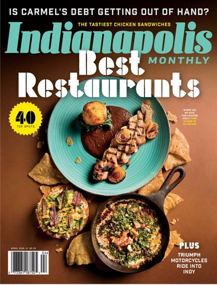 Indianapolis Monthly Cover - 4/1/2020
