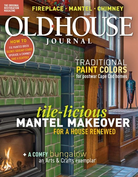 Old House Journal Cover - 1/1/2020