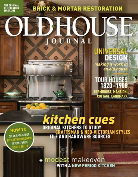 Old House Journal Cover - 3/1/2020