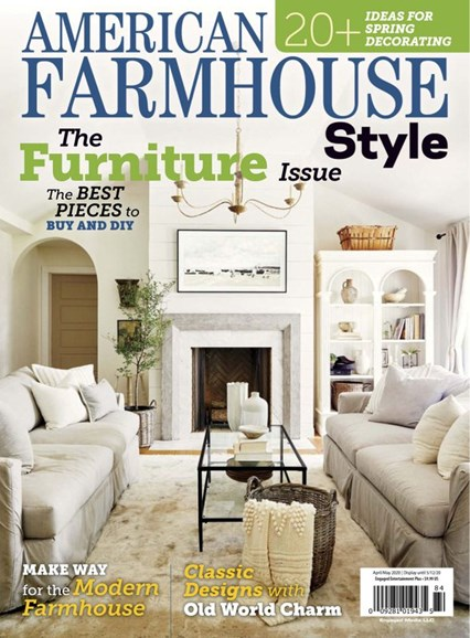 American Farmhouse Style Cover - 4/1/2020