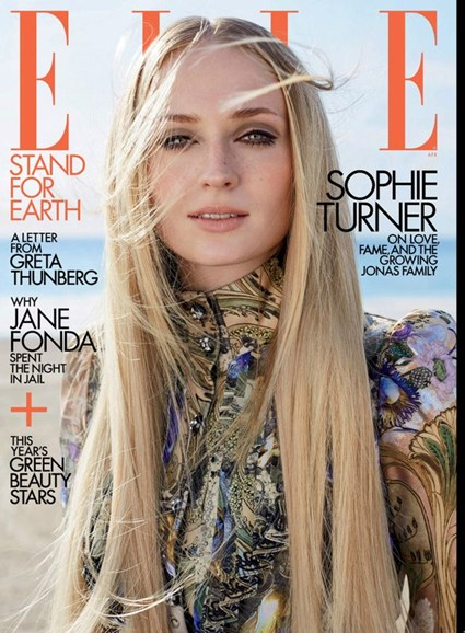 ELLE Cover - 4/1/2020