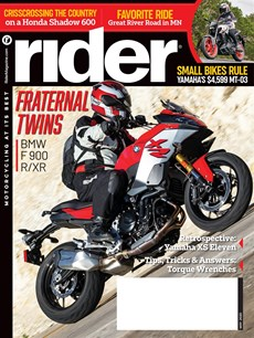 Rider | 5/2020 Cover