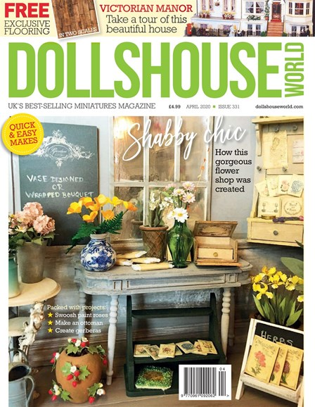 Dolls House World Cover - 4/1/2020