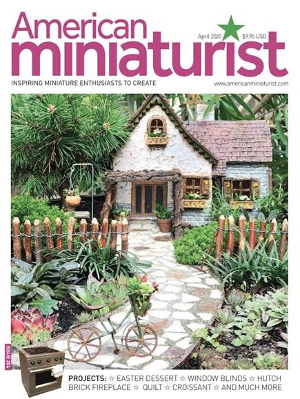 American Miniaturist Cover - 4/1/2020
