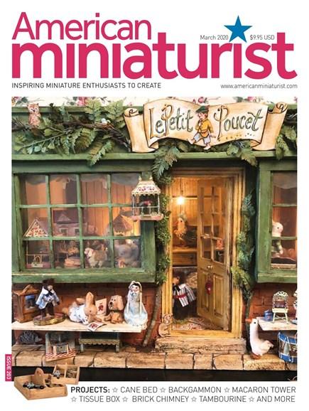American Miniaturist Cover - 3/1/2020