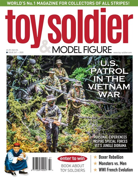 Toy Soldier & Model Figure Cover - 3/1/2020